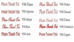 Kiểu chữ khắc dấu